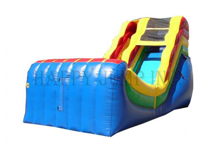 16' Halfpipe Water Slide