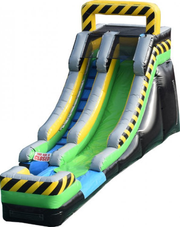 16' Toxic Drop Water Slide