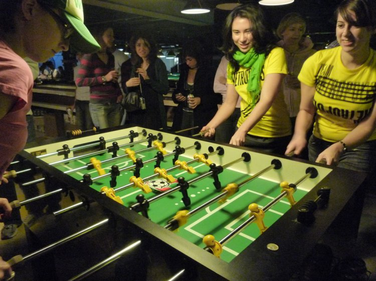 4 Person Foosball Table