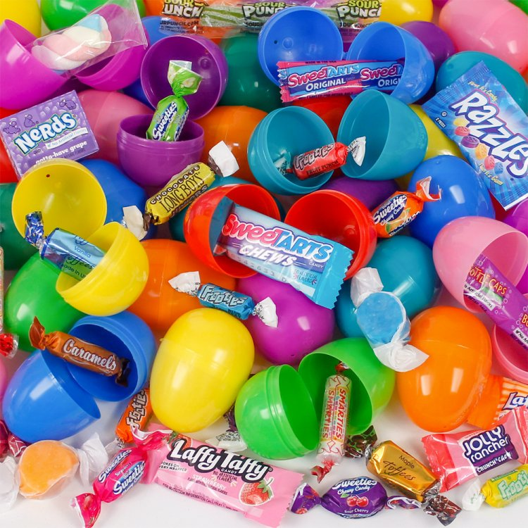 100 Candy Filled Easter Eggs