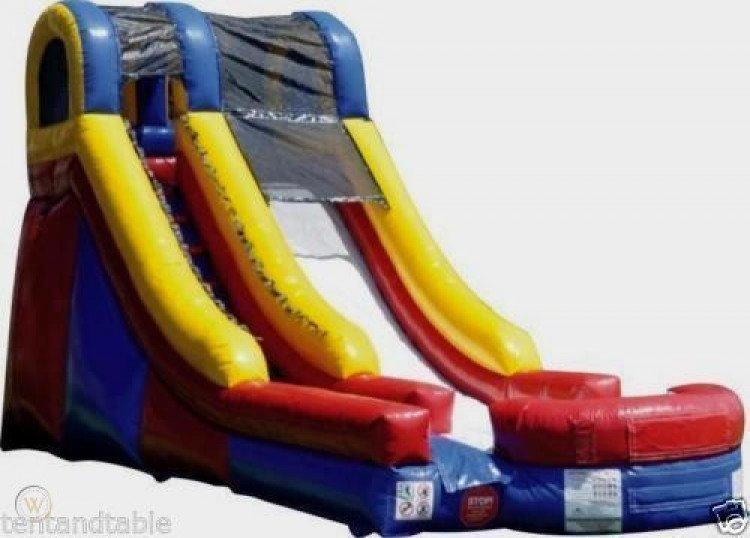 16' Multi Color Water Slide