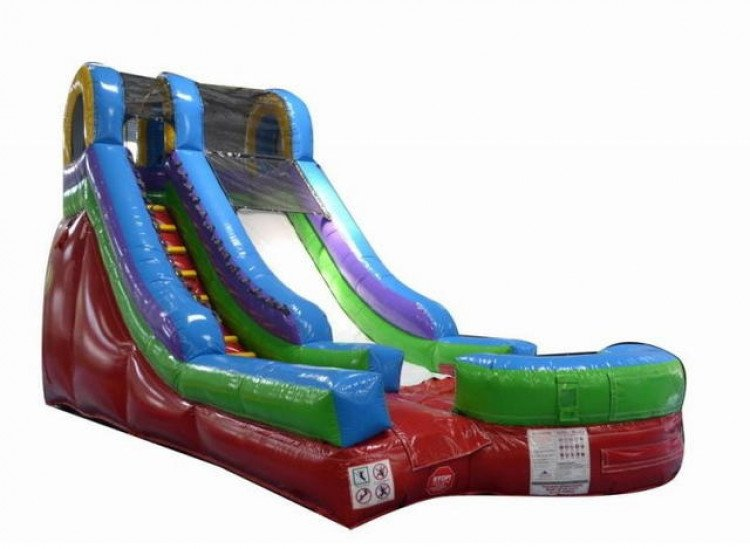 16' Retro Dry Slide