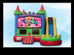 Minnie Mouse Castle Combo WET